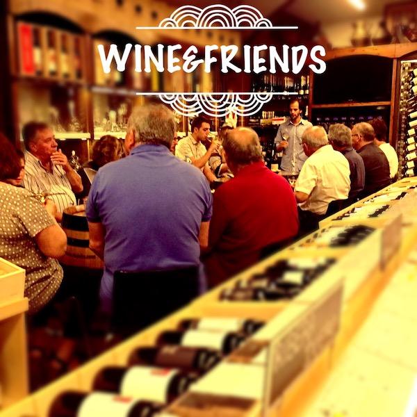 Tast de vins Wine & Friends