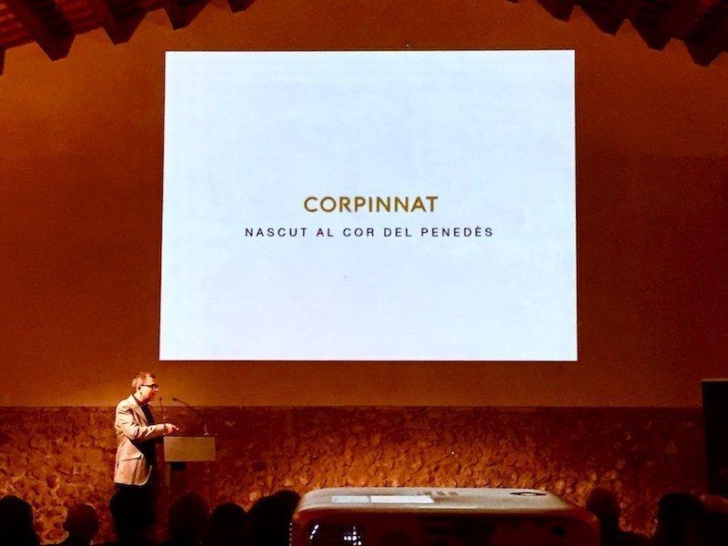 Ton Mata, en la presentación de CORPINNAT